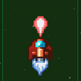 Pixel Rocket game