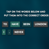 Broken Sentences game