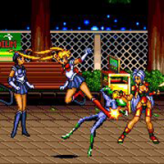 Streets of Rage 2: Sailor Moon game