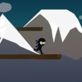 Jumping: Travel of the Ninja game