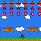 Mario Invaders game
