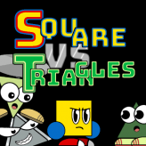 Square vs Triangles game