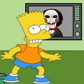 bart simpson saw game game