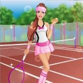 barbie tennis game