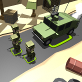 blocky army game