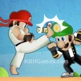 mario street fighter game