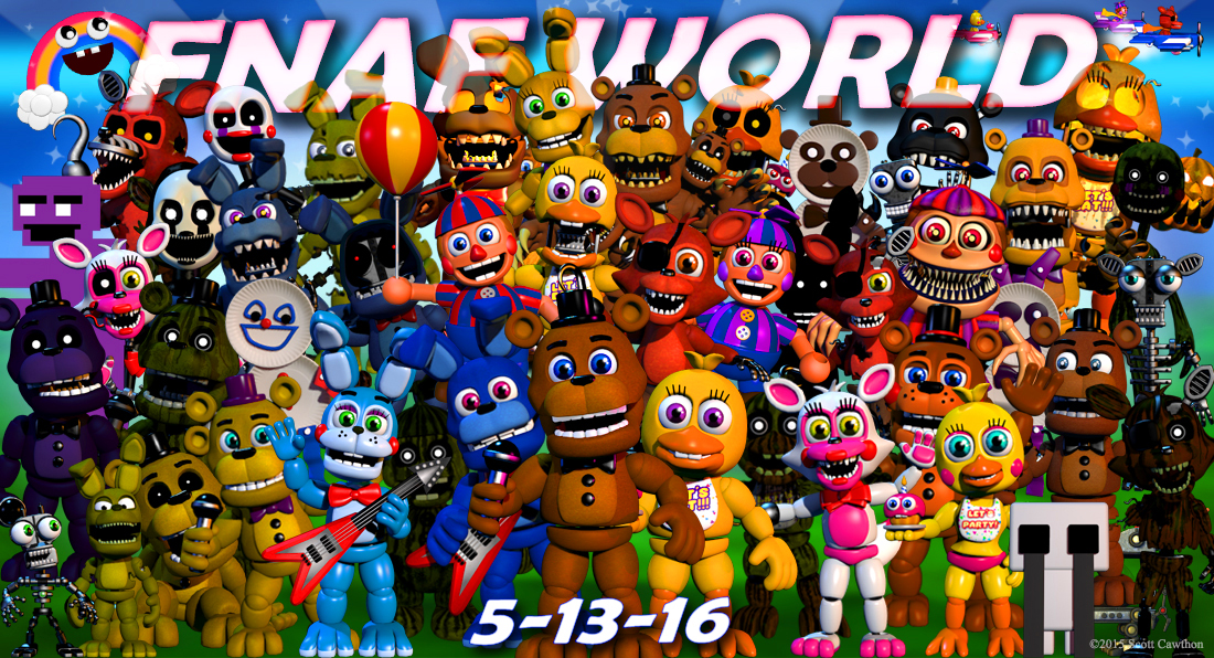 FNaF World - Play Game Online