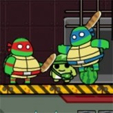 ninja turtles hostage rescue game