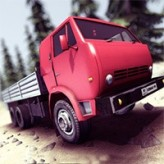 truck driver crazy road game
