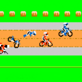 excitebike - trouble on the tracks game