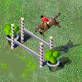 show jumping game