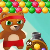 bubble shooter: team battle game