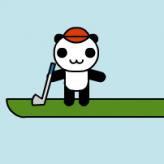 panda golf game