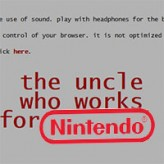 the uncle who works for nintendo game