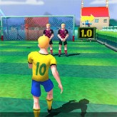 10 shot soccer game