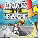 clowns in the face game