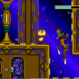 taz in escape from mars game