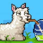 llama in your face game