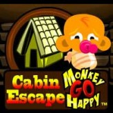 monkey go happy cabin escape game