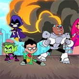 slash of justice: teen titans game