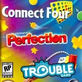 three-in-one pack: connect four + perfection + trouble game