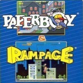 2 in 1: paperboy & rampage game