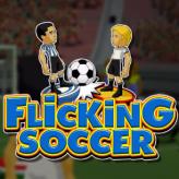 flicking soccer game