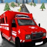 ambulance rescue highway race game