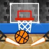 basket pinball game