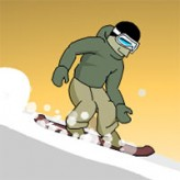 downhill snowboard 3 game