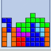 good old tetris game