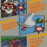 3-in-1 super mario bros, duck hunt, track meet game