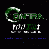 100-in-1 contra function 16 game