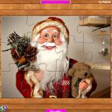santa claus puzzle game game