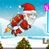 flying santa game