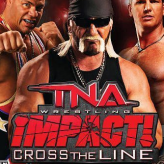 tna impact: cross the line game