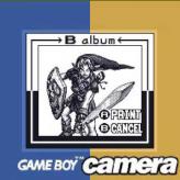 gameboy camera gold: zelda edition game