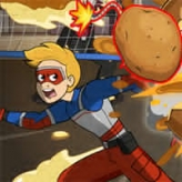 potato panic: adventures of kid danger game