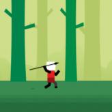 spear toss game