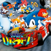 sonic drift 2 game