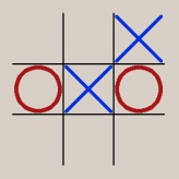 it's just tic tac toe game