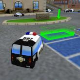 police car parking game
