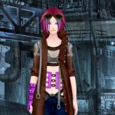 cyberpunk fashion game