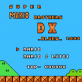 super mario bros dx game