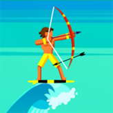 surfer archers game