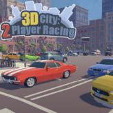 3d city: 2 player racing game