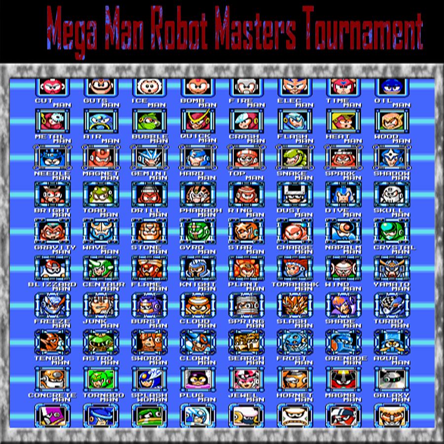 Mega Man: Robot Master Tournament - Play Game Online
