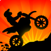 sunset bike racer game