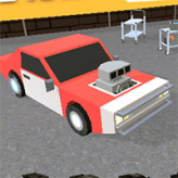 pixel rally 3d game