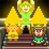 legend of zelda: triforce power game